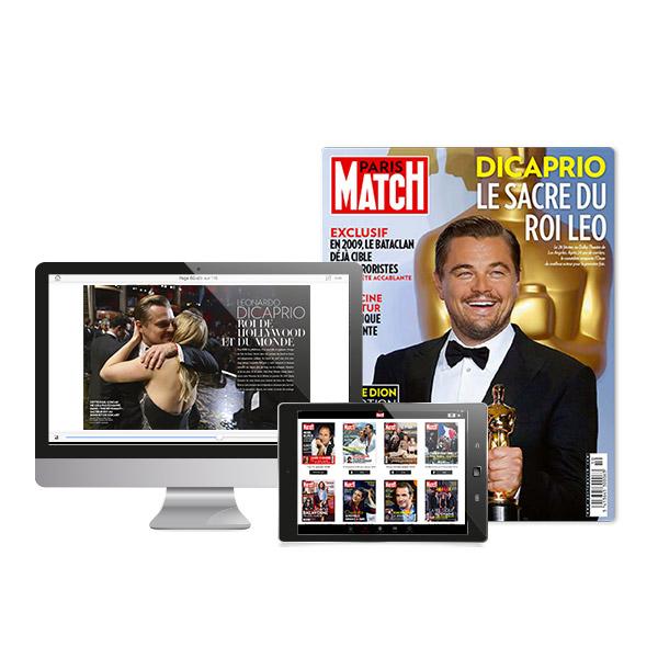 Image sur Paris Match - Intégral - 24 mois