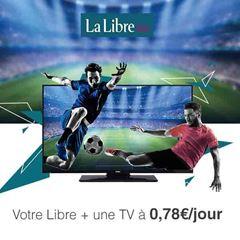 Image de 12 mois à La Libre en 100% numérique + une TV LED