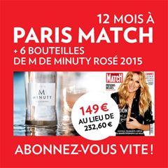 Image de Paris Match 12 mois - Print - Numérique - Web - Vin Minuty