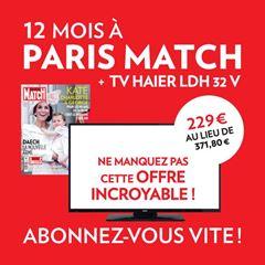 Image de PROMO: Paris Match - intégral - 6 mois - TV