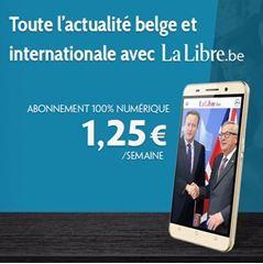 Image de La Libre en 100% numérique : votre abonnement à la semaine à 1,25€ seulement !
