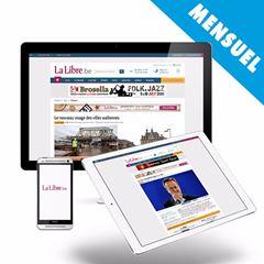 Image de Sélection de LaLibre.be :  6 € par mois (renouvelé automatiquement) + 1 mois gratuit
