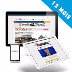 Image de 12 mois d'abonnement à la Sélection de LaLibre.be pour 89€ seulement.