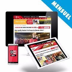 Image de Abonnement à l'Edition Web DH.be renouvelé chaque mois : 6€ par mois + 1 mois gratuit