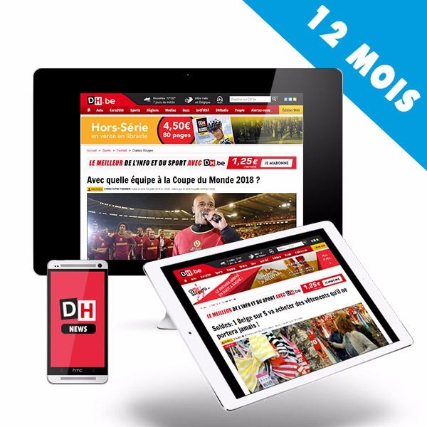 Image sur 12 mois à l'Edition Web DH.be pour 89€