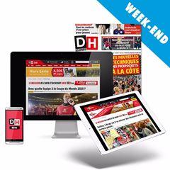 """Image de NOUVEAU : abonnement """"Week-end"""" : La DH chaque samedi en papier et en 100% numérique toute la semaine"""