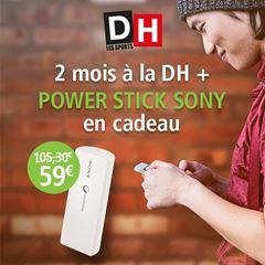 Image de Abonnement Intégral : La DH pendant 2 mois pour  59 € + un power stick en cadeau
