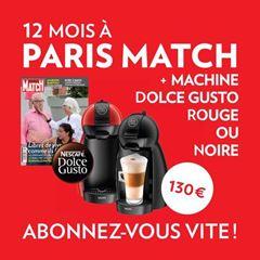 Image de Paris Match 12 mois - Print - Dolce Gusto