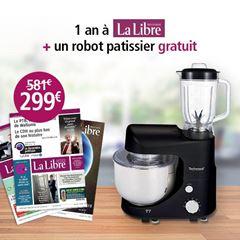 Image de Abonnement Intégral : 12 mois à La Libre + un robot pâtissier pour  299 €