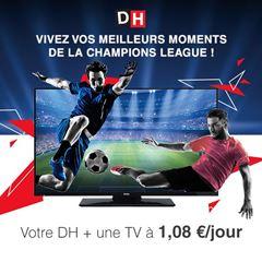 Image de Abonnement Intégral : 12 mois à La DH + 1 TV LED