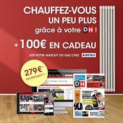 Image de Abonnement Intégral : 12 mois à La DH + 100 € d'achat chez Octa +