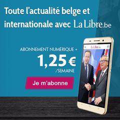 Image de La Libre en Numérique + : votre abonnement à la semaine à 1,25€ seulement !