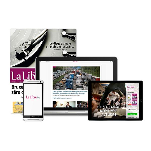 Image sur 3 mois d'abonnement à La Libre Intégrale