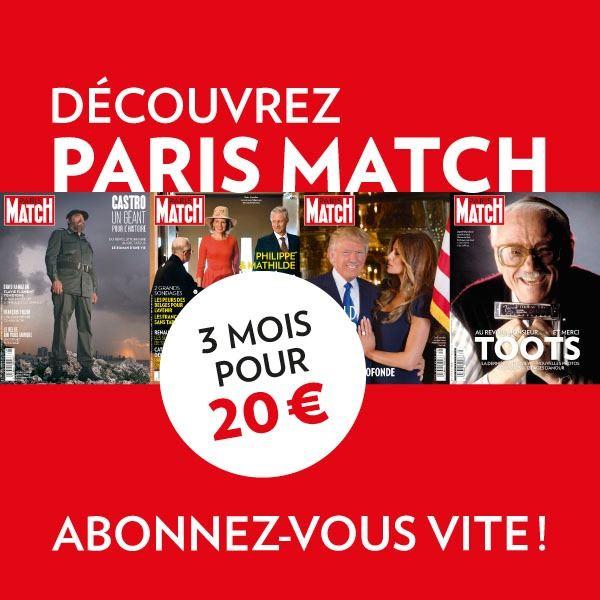 Image sur Offre découverte: Paris Match - intégral - 3 mois