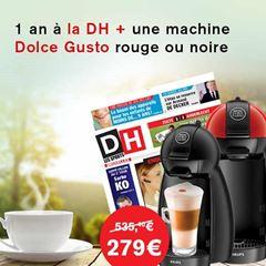 Image de Abonnement Intégral : 12 mois à La DH + 1 machine Dolce Gusto rouge ou noire