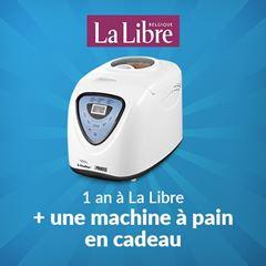 Image de Abonnement Intégral : 1 an à La Libre + une machine à pain pour  299 €