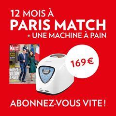 Image de 1 an à Paris Match + une machine à pain en cadeau pour 169 € !