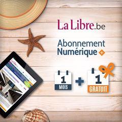 Image de Offre Vacances : 1 mois + 1 mois gratuit à La Libre Numérique +