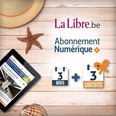 Image de Offre Vacances : 3 mois + 3 mois gratuits à La Libre Numérique +