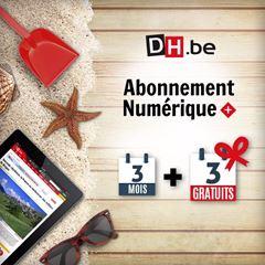 Image de Offre Vacances : 3 mois + 3 mois gratuits à La DH Numérique +