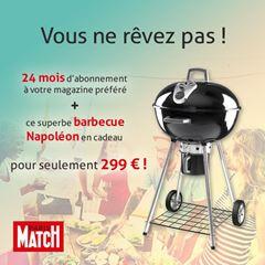 Image de Paris Match - Intégral - 24 mois - Barbecue Napoléon