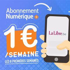 Image de La Libre Numérique + : votre abonnement à la semaine pour 1€ seulement !