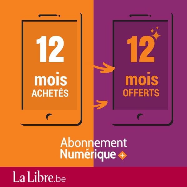 Image sur 12 mois + 12 mois gratuits à La Libre Numérique +