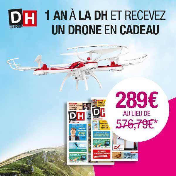 Image sur Abonnement Intégral : 12 mois à La DH + 1 drone Merlo Altitude en cadeau
