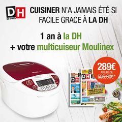 Image de Abonnement Intégral : 12 mois à La DH + un multicuiseur Moulinex en cadeau