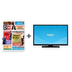 Image de Votre DH pendant 2 ans + une télévision Haier.