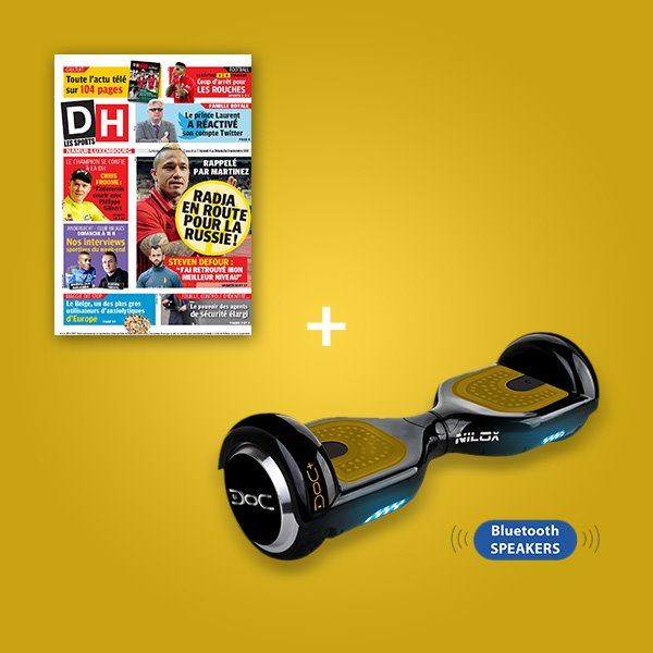 Image sur Votre DH pendant 2 ans + un Hoverboard
