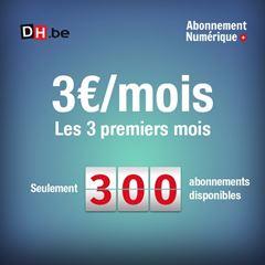Image de 300 abonnements Numérique + disponibles : 3€/mois les 3 premiers mois