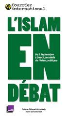 """Image de Courrier International : """" L'Islam en débat"""""""