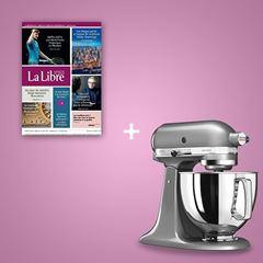 Image de Votre Libre pendant 2 ans + un robot Kitchen Aid: 49€*/mois pendant 24 mois soit 1176€.