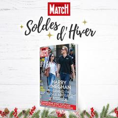 Image de Paris Match - intégral - 6 mois à 39€ seulement !