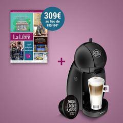 Image de Abonnement Intégral : 1 an à La Libre + une machine Dolce Gusto pour  309 €