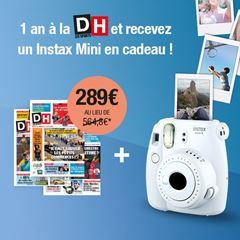 Image de Abonnement Intégral : 12 mois à La DH + un appareil photo instantané en cadeau