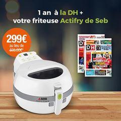 Image de Abonnement Intégral : 12 mois à La DH + une friteuse Actifry de Seb