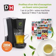 Image de Abonnement Intégral : 12 mois à La DH + votre machine Special T Mini T de Nestlé