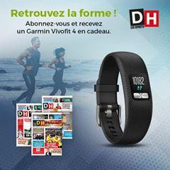 Image de Abonnement Intégral : 12 mois à La DH + un Garmin Vivofi t 4