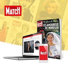 Image de Paris Match pendant 3 mois