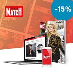 Image de Paris Match pendant 12 mois