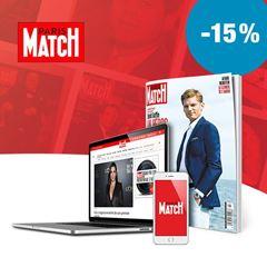 Image de Paris Match pendant 24 mois