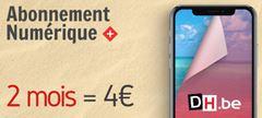 Image de La DH Numérique+: 4€ pour 2 mois puis 9,99€/mois (sans engagement)