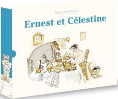 Image de Coffret Ernest et Célestine : édition limitée (4 livres)