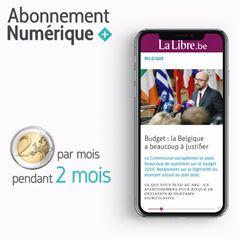 Image de La Libre Numérique+: 2€ par mois pendant 2 mois puis 9,99€ par mois