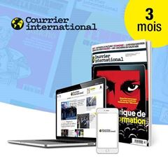 Image de Courrier international pendant 3 mois