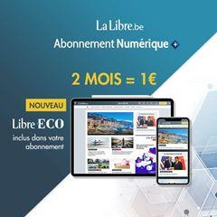 Image de La Libre Numérique+: 2 mois pour 1€ seulement