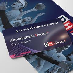 Image de Carte cadeau : Offrez 6 mois d'accès illimité au contenu numérique de DH Les Sports+ (-50% sur la valeur de l'abonnement)