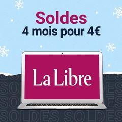 Image de La Libre Numérique +:  4 mois pour 4€, puis 10,99€ par mois
